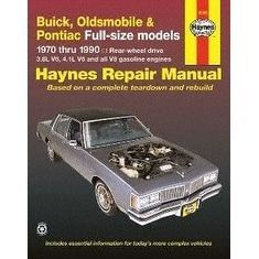 Haynes Repair Manuals Buick / Olds / Pont. Full-Size (RWD) (, Clear