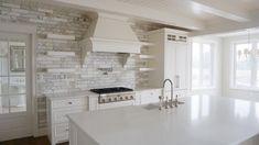 Home - Pioneer Cabinetry Apron Front Sink, White Quartz, Quartz Countertops, Estate Homes, Chrome Finish, Flooring, Kitchen, Design, Cooking