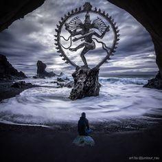 Music Therapy Relaxing As Nataraja (Sanskrit: Lord of Dance) Shiva represents apocalypse and creation as he dances away th Lord Murugan, Dancers Art, Nataraja, Lord, Shiva Statue, Dancing Shiva, Indian Classical Dance, Yoga Art, Shaivism