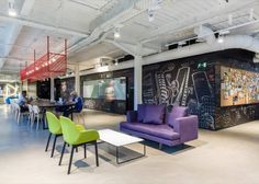 Google's Co-Working Space in a Former Factory in Madrid – Fubiz Media
