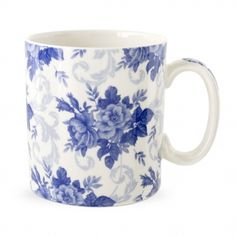 Spode Blue Room Mug Chintz Garland Would work with my teapot!!