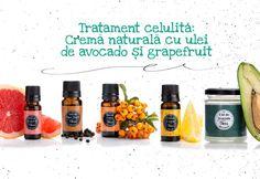 Tratament celulita: Cremă naturală cu ulei de avocado și grapefruit
