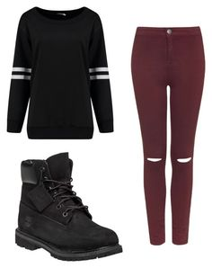 """""""Untitled #29"""" by flawlessboss on Polyvore featuring Topshop and Timberland"""