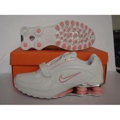 Nike Shox OZ White Pink Women Shoes