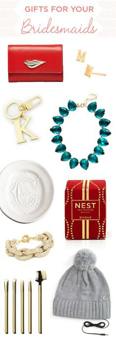 Gift Ideas for your Bridesmaids. #GiftGuide
