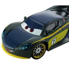 Disney Cars Carbon Racers Lewis Hamilton Die-Cast Vehicle, Multicolor