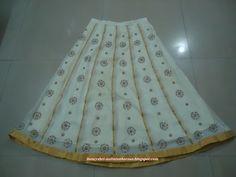 NaliniAnbarasu's Sewing: Ghagra Skirt
