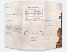 music instrument brochures Music Mood, Andrew Scott, Brochures, Music Instruments, Personalized Items, Board, Things To Sell, Musical Instruments, Planks