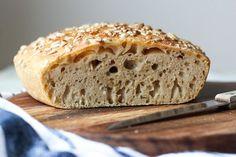 Jednoduchý špaldový chléb