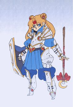 If Sailor Moon Starred In A Fantasy RPG