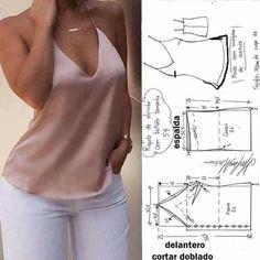 Jacket Pattern, Top Pattern, Fashion Sewing, Diy Fashion, Sewing Clothes, Diy Clothes, Long Dress Fashion, Pattern Draping, Diy Vetement