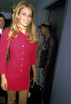 Claudia Schiffer, 1991  by: Getty