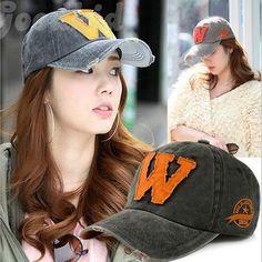 Fashion New York cap Washer Antigua Letter W Baseball Cap printed Summer Fall Sports hat Snapback caps For Women for Men