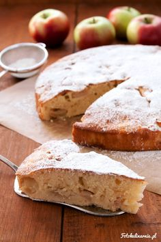 Torta di mele e mascarpone - Italian Mascarpone Apple Pie.