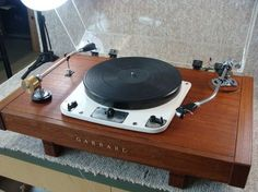 """Garrard - Vintage High End Turntable"" !... http://about.me/Samissomar"