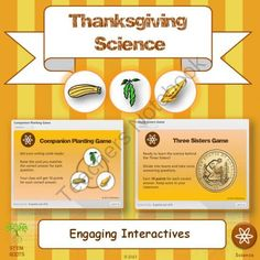 Thinking about Thanksgiving GIVEAWAY! Enter for your chance to win 1 of 3.  Thanksgiving Science and Engineering STEM/STEAM Lesson Plans (65 pages) from STEM Roots on TeachersNotebook.com (Ends on on 9-26-2014)  Looking for a science mini-unit to boost your harvest studies this fall? Check out my popular Thanksgiving Science unit � complete with hands-on labs, computer interactives, art projects and more!  Enter for a chance to win one of my giveaways!  I'm giving away free this week.