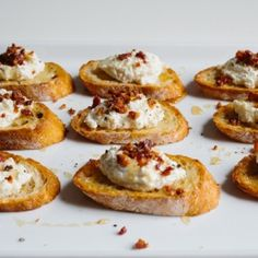 Tangy goat cheese recipes.