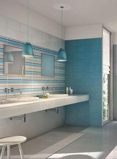 Le proposte Marazzi per i rivestimenti bagno | Marazzi Blue Bathroom Paint, Bathroom Colors, White Bathroom, Small Bathroom, Master Bathroom, Bathroom Storage Over Toilet, Laundry Room Bathroom, Bathroom Layout, Bathroom Color Schemes Brown