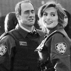 Mariska and chris meloni