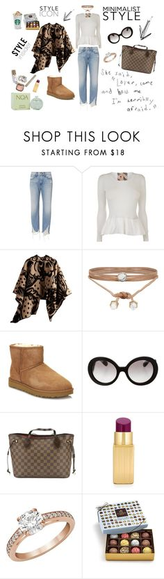 """""""style icon"""" by mariampi on Polyvore featuring 3x1, Burberry, ALDO, UGG, Prada, Louis Vuitton, Lulu Guinness, Swarovski and Cacharel"""