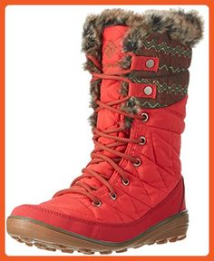 Columbia Women's Heavenly Omni-Heat Print Burnt Henna/Nori Boot 10 B (M) - Boots for women (*Amazon Partner-Link)