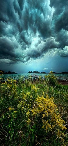 """Riders On The Storm"" Milwaukee, Wisconsin Horizons ~~by Phil Koch~~"