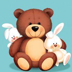 Cute Illustrations - Stuffed animals