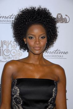 Tomiko Fraser...gorgeous! Curly fro <3