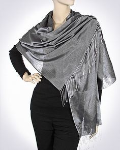 Iridescent Silk Feel Evening Shawls - on Sale -  many colors to wear over your beautiful evening dresses and gowns.