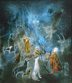 Leonora Carrington OBE (6 April 1917 – 25 May 2011), was a British-born–Mexican artist, surrealist painter, and novelist. She lived most of her adult life in Mexico City, and was one of the last surviving participants in the Surrealist movement of the 1930s. She and Max Ernst were a couple living in turbulent times, they were separated during the war.                                                         && Don't forget our Facebook !!