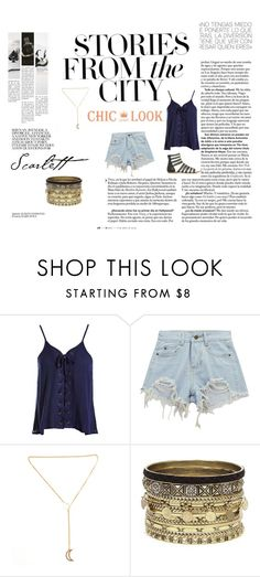 """""""Beat the summer heat"""" by love-leal ❤ liked on Polyvore featuring Marc Jacobs, Sans Souci, Chicnova Fashion and Daytrip"""