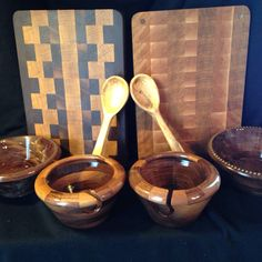 These are the latest items with more to come! See more at www.4riverswoodworx.com.
