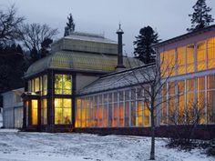 Das Große Gewächshaus hat seine Hauptsaison im Winter
