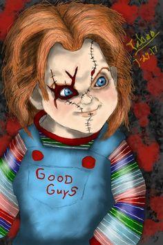 06504660 Curse of Chucky by Taboochildsplay.deviantart.com on @DeviantArt Chucky,  Stuffing,