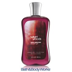 NEW & improved Twilight Woods Shower Gel — now with Shea Butter! <3    #LUVBBW