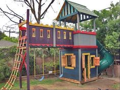 We are going to build Whitney a playhouse next summer. Just not sure how elaborate!