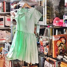 Today's peek at spring weather makes us ready for pretty (and perfect) party dresses! $127 || The Children's Hour Bookstore & Boutique || Clothing  Gifts  Toys  Shoes || 898 South 900 East || Salt Lake City Utah || 801.359.4150 || childrenshourbookstore.com