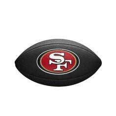 573b5ef25 Bola Futebol Americano San Francisco 49ers Team Logo Black - Wilson