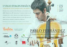 Cartel clases magistrales violonchelo