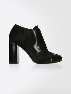 da90ada4fb00 black Heeled leather Oxfords  Maxmara Max Mara Max Mara