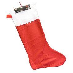 Red Christmas Stocking - Single