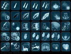 ArtStation - Hybrid wars - icons set, Alexey Kirsanov
