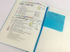 """5 different ways to handle future planning in your Bullet Journal - including the """"sticky note method"""""""