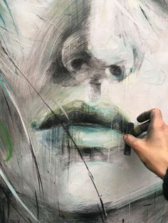 25 Ideas For Painting Oil Abstract Inspiration Fine Art Abstract Portrait Painting, Portrait Art, Painting & Drawing, Africa Art, Abstract Faces, Arte Pop, Face Art, Creative Art, New Art