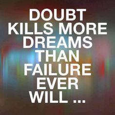 never doubt urslf