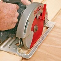 Get better cuts from any circular saw