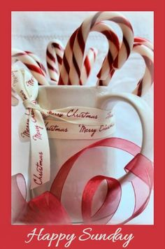 Candy Cane Christmas Decorations are one of the popular Christmas decorations and it is really wonderful. Peppermint candy canes define the spirit of Christmas in [. Candy Cane Christmas, Little Christmas, Country Christmas, Christmas Colors, All Things Christmas, White Christmas, Christmas Time, Merry Christmas, Christmas Decorations
