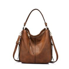 Handbags for Women Large Designer Ladies Hobo bag Bucket Purse Faux Leather in Clothing, Shoes & Accessories, Women's Handbags & Bags, Handbags & Purses