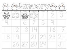 Free! January Calendar!