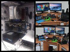 Ermer Gherd Barcelo's Work/Gaming Station